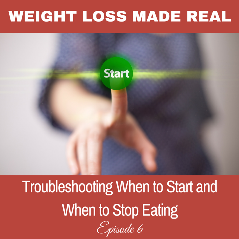 When to start and stop eating