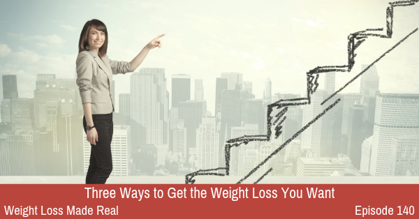 Get the Weight Loss You Want Podcast 140
