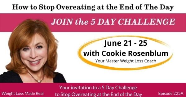 5 Day Challenge to Stop Overeating at the End of the Day