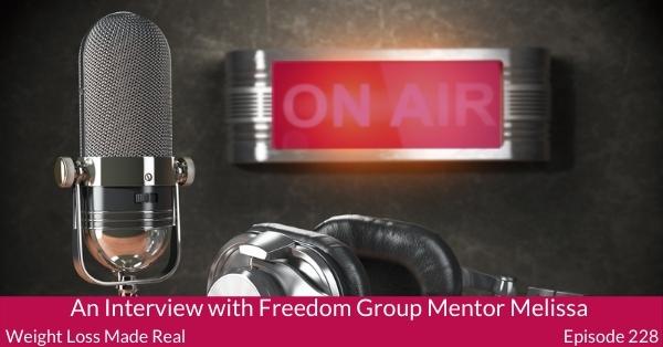 Freedom Group Mentor Melissa