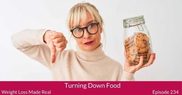 Turning Down Food